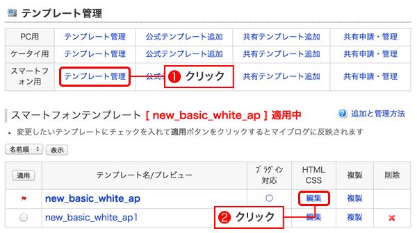 スマホ用HTML編集